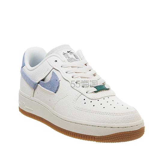 Nike Off-White Air Force 1 07 浅紫色磨砂 swoosh 运动鞋 9(约847元) - 海淘优惠海淘折扣|55海淘网