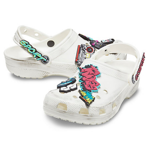 crocs鞋扣_Crocs 卡骆驰官网 Kids Lights Holiday Clog 洞洞鞋 $15.99(约110元) - 海 ...