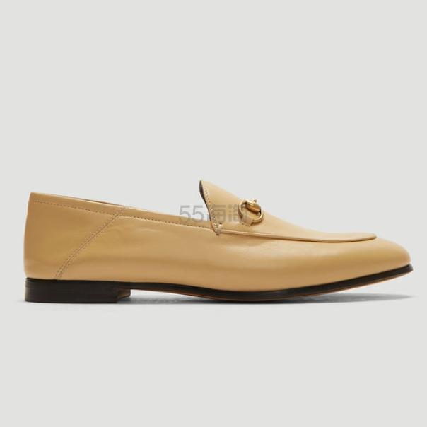 【40码】Gucci 棕色乐福鞋 €472(约3,691元) - 海淘优惠海淘折扣|55海淘网