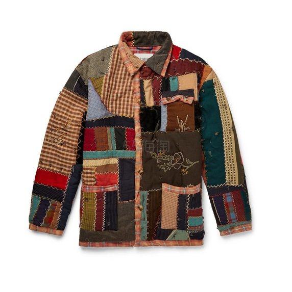 BODE 拼接夹克 £1,490(约13,380元) - 海淘优惠海淘折扣|55海淘网