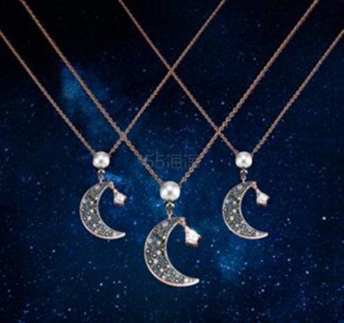 Swarovski Symbolic Moon 新款星月项链 任意凑两件享7.5折后.25 - 海淘优惠海淘折扣|55海淘网