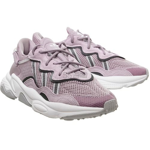 降价!Adidas 三叶草 Ozweego 紫灰色运动鞋 £65(约584元) - 海淘优惠海淘折扣|55海淘网