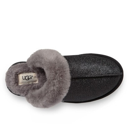UGG Scuffette II 亮片毛绒拖鞋 多色可选 .97(约419元) - 海淘优惠海淘折扣|55海淘网