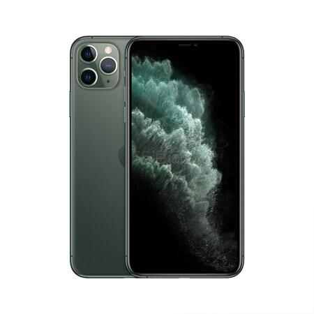 【返利0.72%】Apple iPhone 11 Pro Max (A2220) 256GB 暗夜绿色 4G双卡双待手机