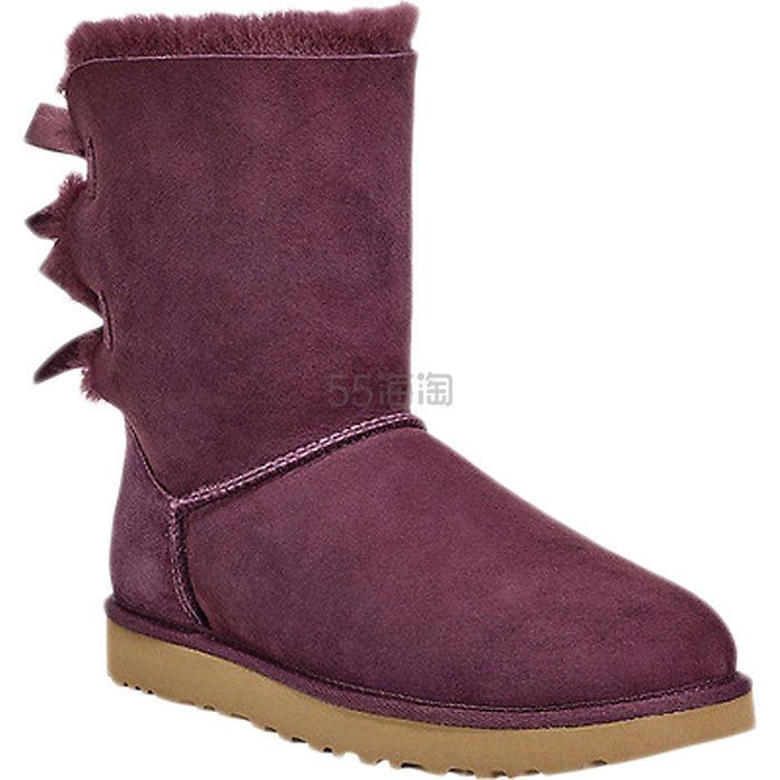 UGG Bailey Bow II 女士蝴蝶结雪地靴 7.99(约965元) - 海淘优惠海淘折扣|55海淘网