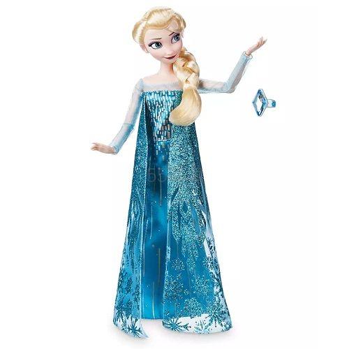 Disney 迪士尼 冰雪奇缘 Elsa 艾莎经典娃娃+戒指 (约84元) - 海淘优惠海淘折扣|55海淘网