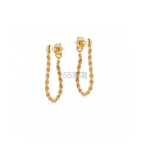 Lucy Williams x Missoma 金绳链条耳环 £44(约394元) - 海淘优惠海淘折扣|55海淘网