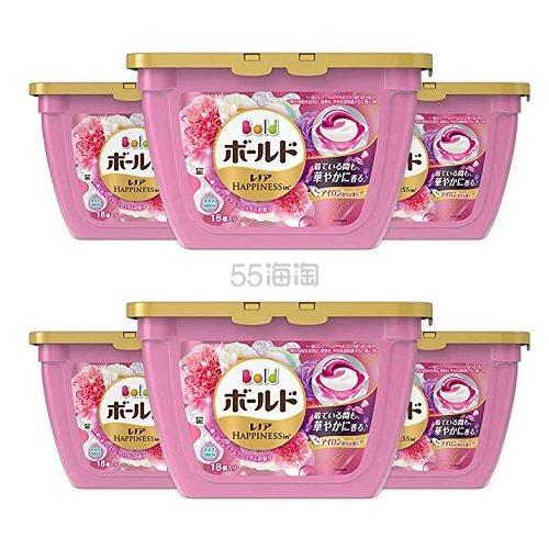 【日亚自营】P&G 宝洁 碧浪 3D洗衣凝珠洗衣球 花香 18枚*6