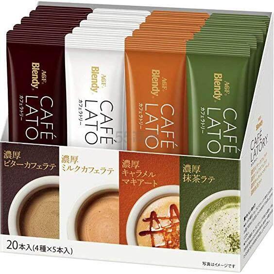 【日亚自营】AGF Blendy 4种口味速溶咖啡/拿铁 20包