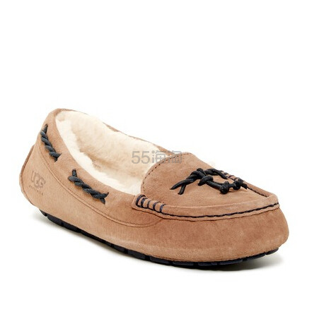 UGG UGG(R) Brett Slipper 女款毛绒平底鞋