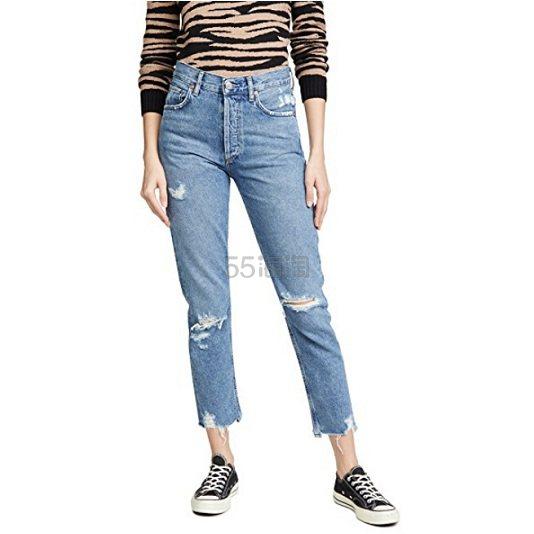 补货上架~AGOLDE Jamie 高腰经典牛仔裤 8(约1,246元) - 海淘优惠海淘折扣|55海淘网