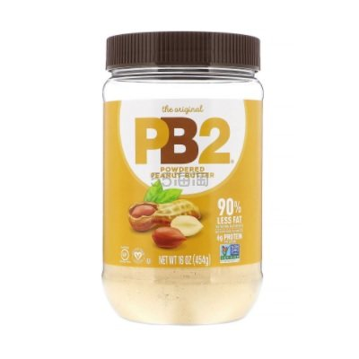 【5件0税免邮】低脂、低热量!PB2 Foods 有机花生酱粉 454g