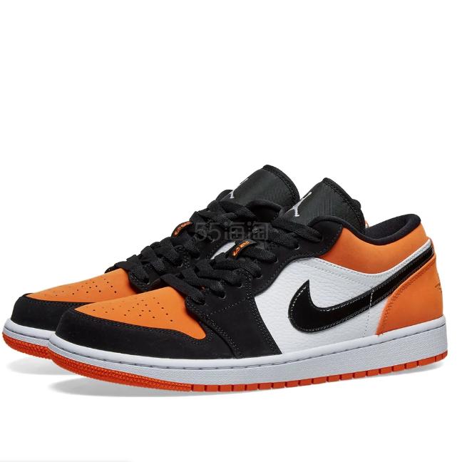 AIR JORDAN 1 橘黑色低帮运动鞋 £79(约703元) - 海淘优惠海淘折扣|55海淘网