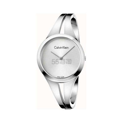 Calvin Klein 卡尔文·克莱因 Addict 系列 银色女士时装腕表 K7W2S116