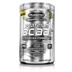 MuscleTech 肌肉科技黑金BCAA支链氨基酸8:1:1健身能量补剂 原味 200粒