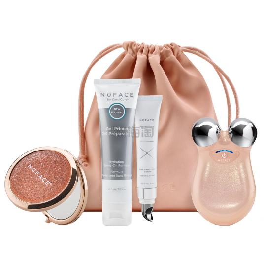 Nuface mini 紧致美容仪套装 限量璀璨蜜桃色 £118.29(约1,059元) - 海淘优惠海淘折扣|55海淘网