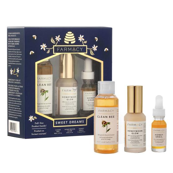 Farmacy 蜂蜜护肤三件套 £45.33(约406元) - 海淘优惠海淘折扣|55海淘网