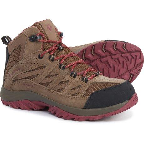 Columbia 哥伦比亚 Crestwood Mid 女士户外徒步鞋登山鞋