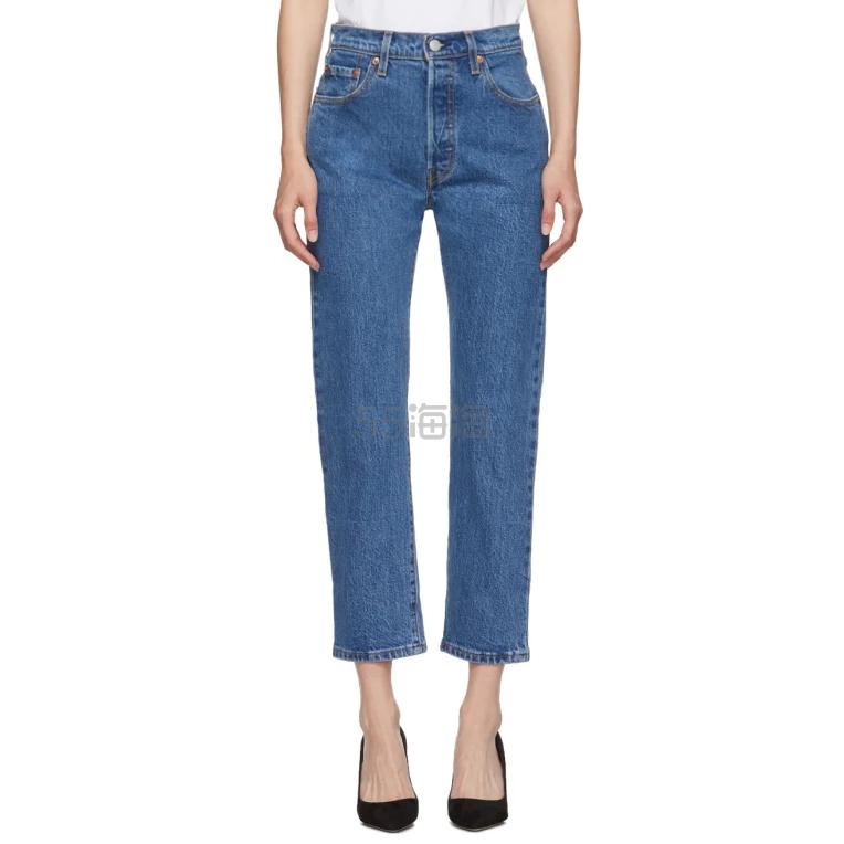 Levis Blue 501 9分牛仔裤 0(约702元) - 海淘优惠海淘折扣|55海淘网