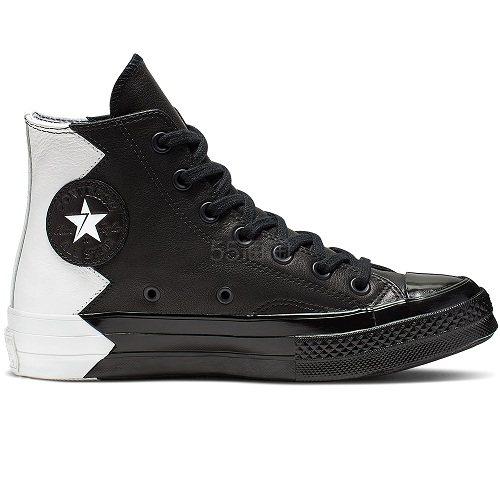Converse 匡威 Chuck 70 VLTG 黑白拼色高帮鞋 £49.99(约447元) - 海淘优惠海淘折扣|55海淘网