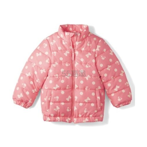 Disney 迪士尼 米奇米妮儿童小棉袄面包服 粉/蓝 3,811日元(约249元) - 海淘优惠海淘折扣|55海淘网