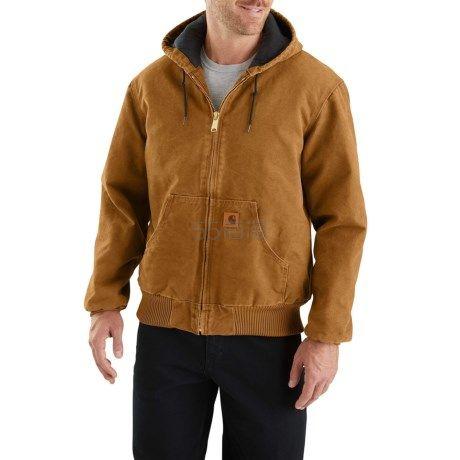 大码福利!Carhartt J130 Sandstone Active 男士连帽夹克 Factory Seconds 版本 .99(约421元) - 海淘优惠海淘折扣|55海淘网