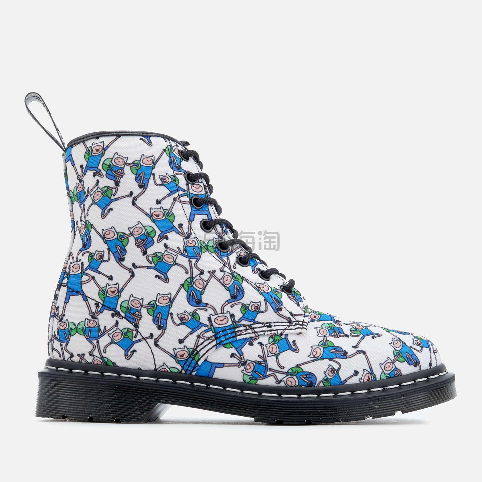 【大码福利】Dr. Martens Castel Canvas Finn 女士马丁靴