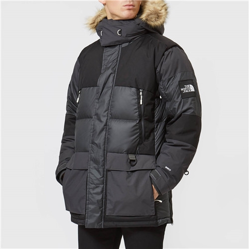The North Face 男士 Logo 防水派克棉衣