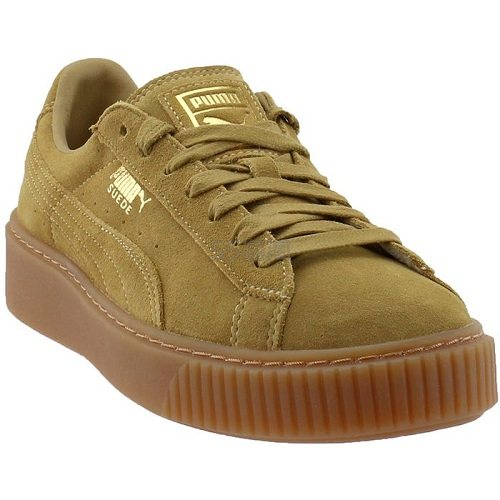 Puma 彪马 Suede 卡其棕色运动鞋