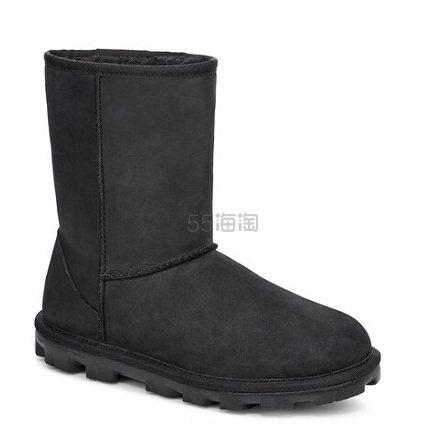 UGG Essential Short Leather 女款雪地靴 9.97(约840元) - 海淘优惠海淘折扣 55海淘网