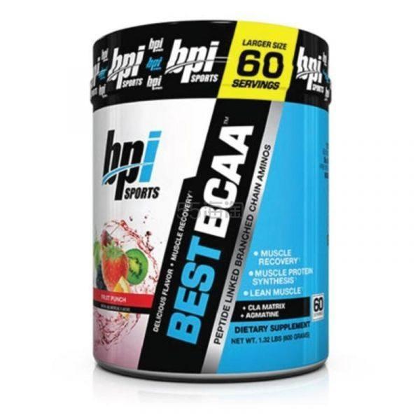 【包税免邮】BPI Best BCAA 寡肽支链氨基酸健身运动恢复肌肉营养粉 30份