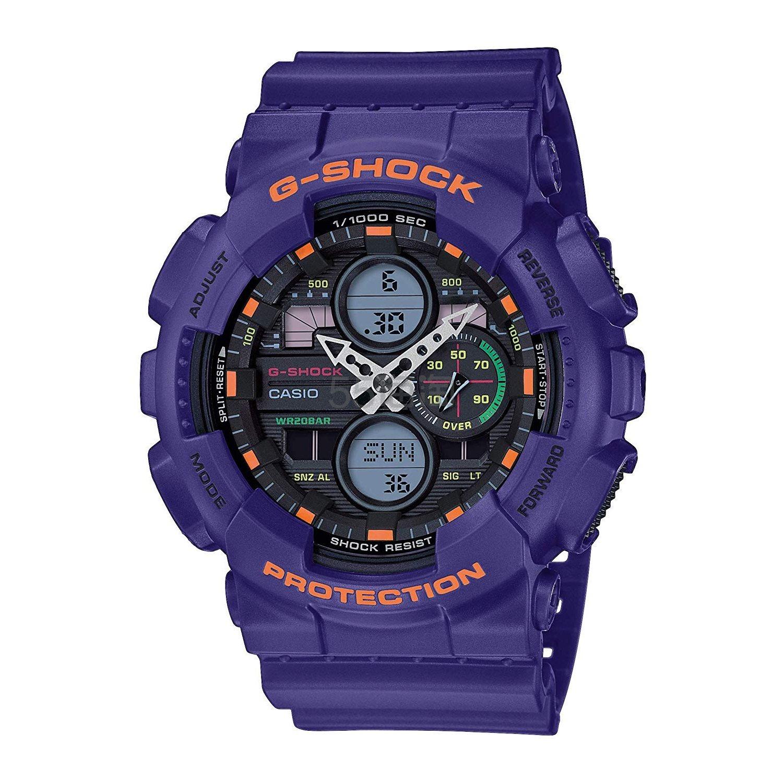 【中亚Prime会员】Casio 卡西欧 G-Shock GA-140-6AER 男士多功能防水石英手表
