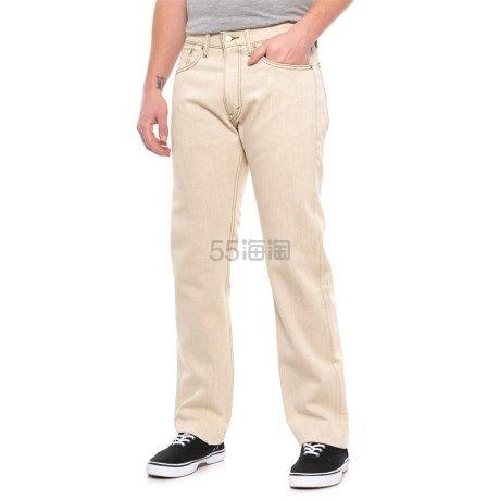 Levis 李维斯 505 男士经典直筒牛仔裤 .99(约175元) - 海淘优惠海淘折扣|55海淘网