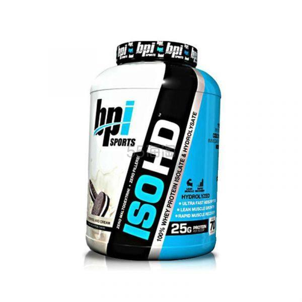【包税免邮】BPI 助力增肌分离水解乳清蛋白粉 奶油曲奇味 69次量 ¥326 - 海淘优惠海淘折扣|55海淘网