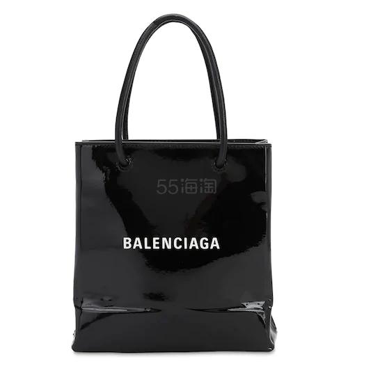 BALENCIAGA XXS漆皮购物托特包 ,192(约8,351元) - 海淘优惠海淘折扣|55海淘网