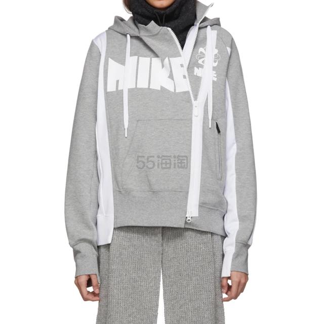 Nike X Sacai NRG NI-60 灰色帽衫 5(约2,417元) - 海淘优惠海淘折扣|55海淘网