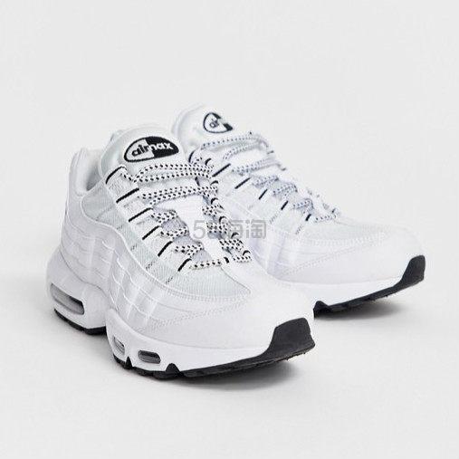 Nike Air Max 95 全白女士运动鞋