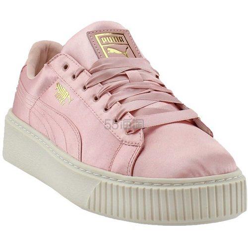 Puma 彪马 粉色缎面运动鞋 .95(约206元) - 海淘优惠海淘折扣|55海淘网