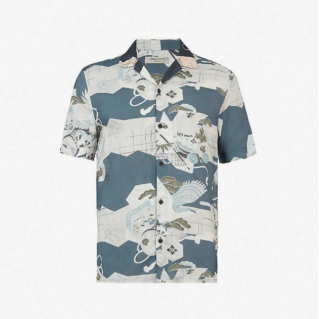 AllSaints Kahana 编织衬衫 港币385(约347元) - 海淘优惠海淘折扣|55海淘网