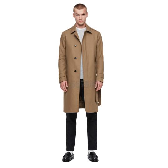 AllSaints Apsley Mac 男士长款风衣 £166.4(约1,515元) - 海淘优惠海淘折扣|55海淘网