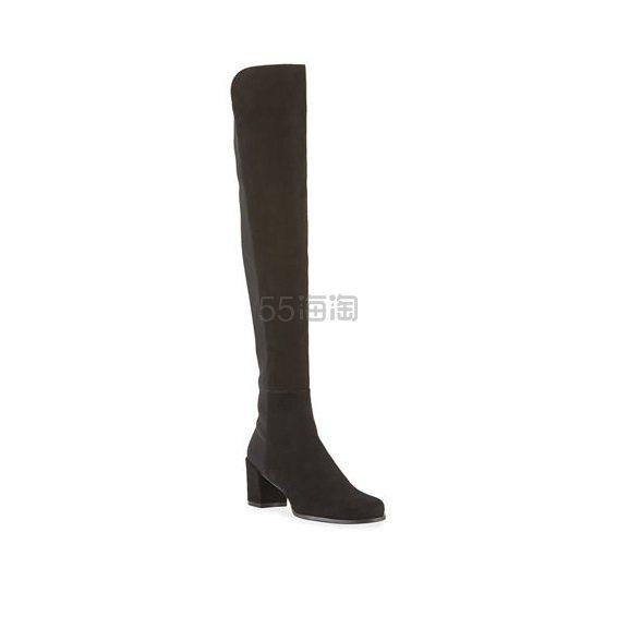 Stuart Weitzman 5050 麂皮过膝靴 1.3(约2,743元) - 海淘优惠海淘折扣|55海淘网