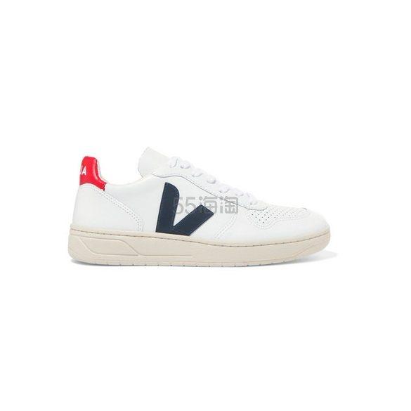 VEJA V-10 皮革运动鞋 £97.75(约898元) - 海淘优惠海淘折扣|55海淘网