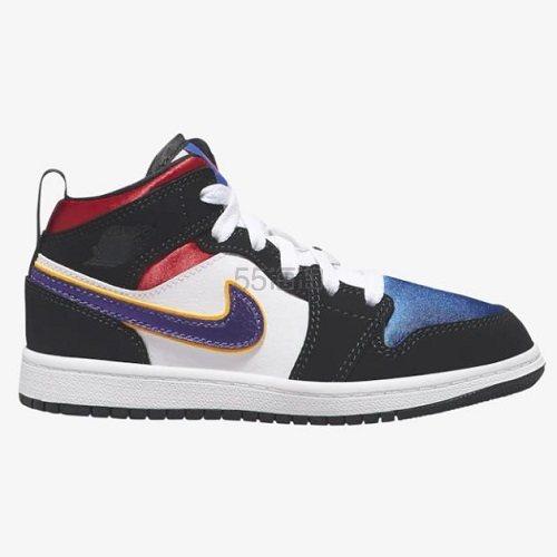 【额外8折】Jordan 乔丹 AJ 1 Mid SE 中童款篮球鞋 (约389元) - 海淘优惠海淘折扣 55海淘网