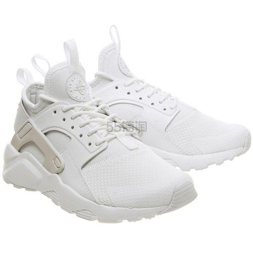 降价!Nike 耐克 Huarache Ultra 华莱士 白色运动鞋 £46(约422元) - 海淘优惠海淘折扣|55海淘网