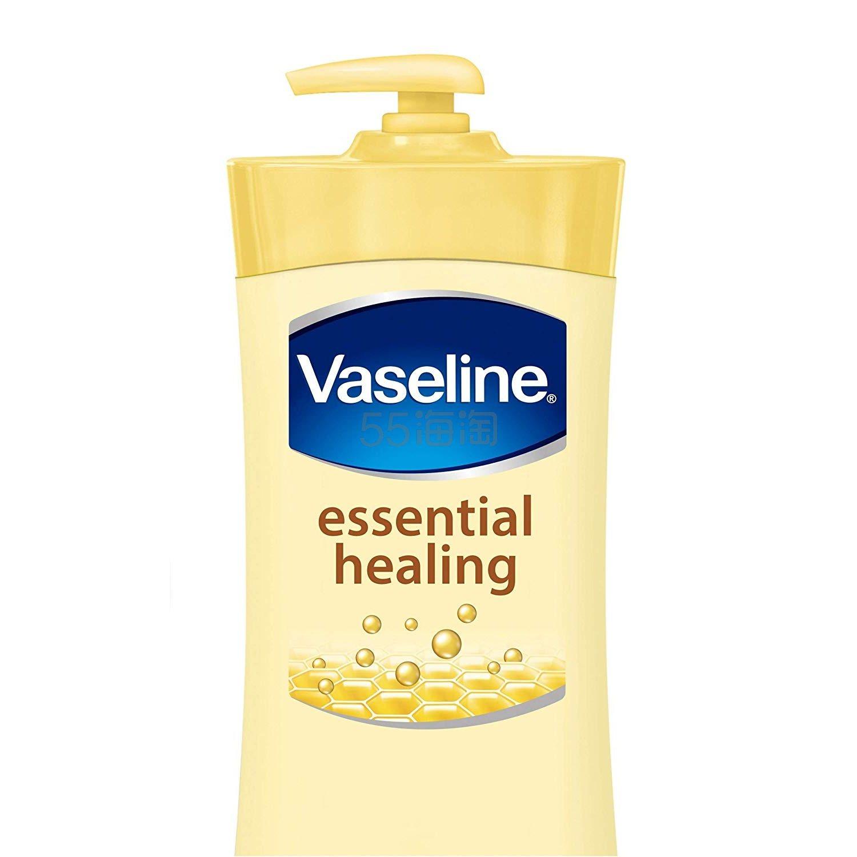 【中亚Prime会员】Vaseline 凡士林 深层护理身体乳液 高级修复无香型 600ml*3瓶