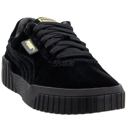 Puma 彪马 Cali Velvet 黑色丝绒运动鞋 .95(约420元) - 海淘优惠海淘折扣 55海淘网