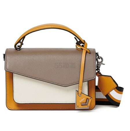 BOTKIER Cobble Hill Leather Crossbody Bag 拼色包包