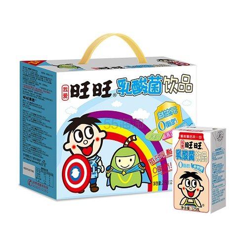 【返利14.4%】旺旺 旺仔乳酸菌饮品 125ml*20