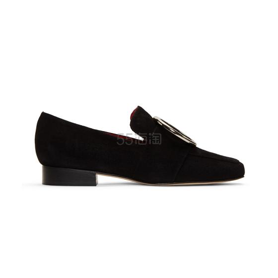 DORATEYMUR Harput 黑色圆环乐福鞋 5(约3,328元) - 海淘优惠海淘折扣 55海淘网