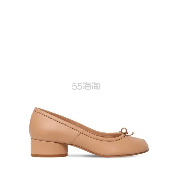 MAISON MARGIELA 30毫米TABI分趾皮革高跟鞋 6(约4,036元) - 海淘优惠海淘折扣|55海淘网